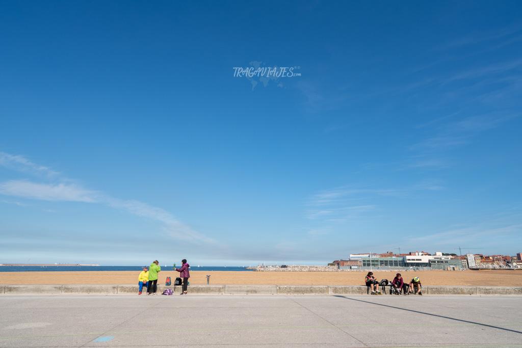 Qué hacer en Gijón - Playa de Poniente