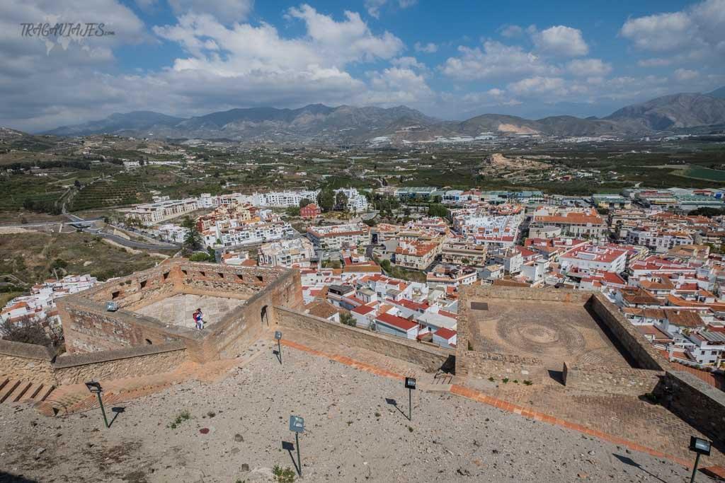 Qué hacer en Salobreña- Vistas desde el Castillo Arabe de Salobreña