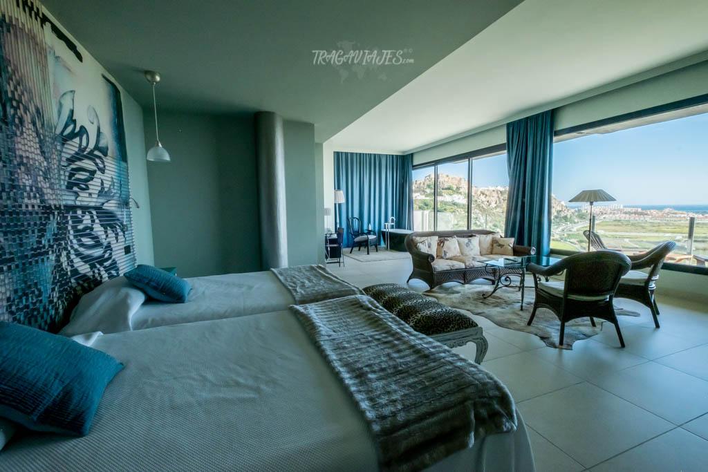 Qué ver en Salobreña- Vistas desde la habitación de Hotel Miba