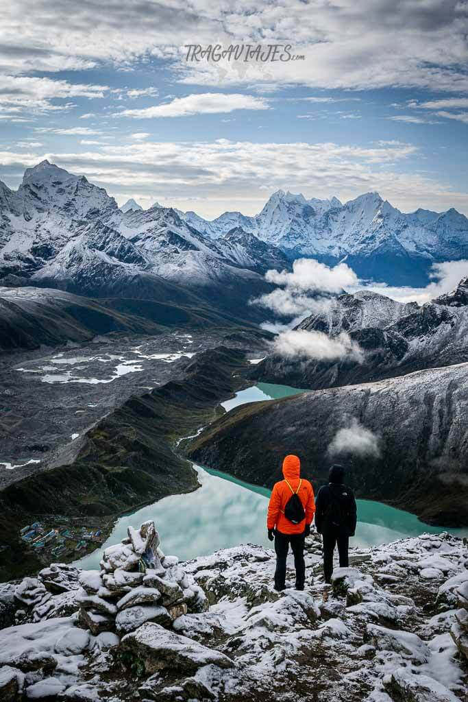 Qué trekking hacer en Nepal - Lago de Gokyo desde Gokyo Ri