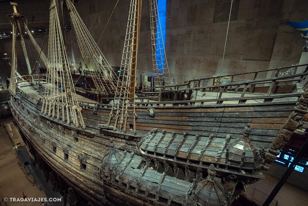 qué ver en Estocolmo - Museo Vasa
