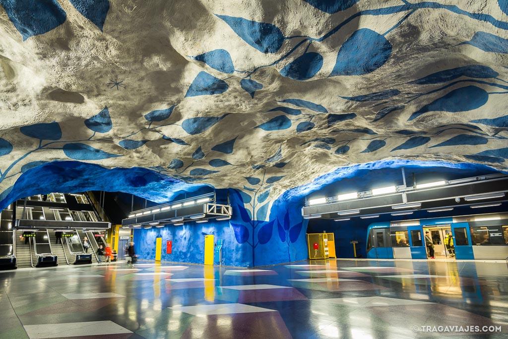 qué ver en Estocolmo - Metro