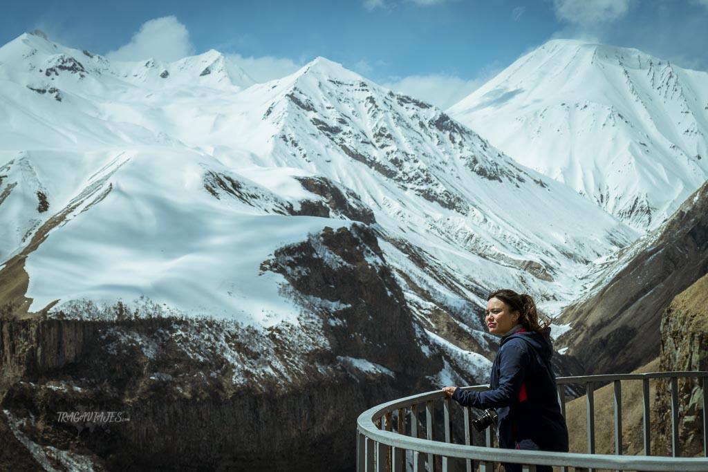 Viaje a Georgia de 10 días - Montañas del Cáucaso desde el mirador de Jvari