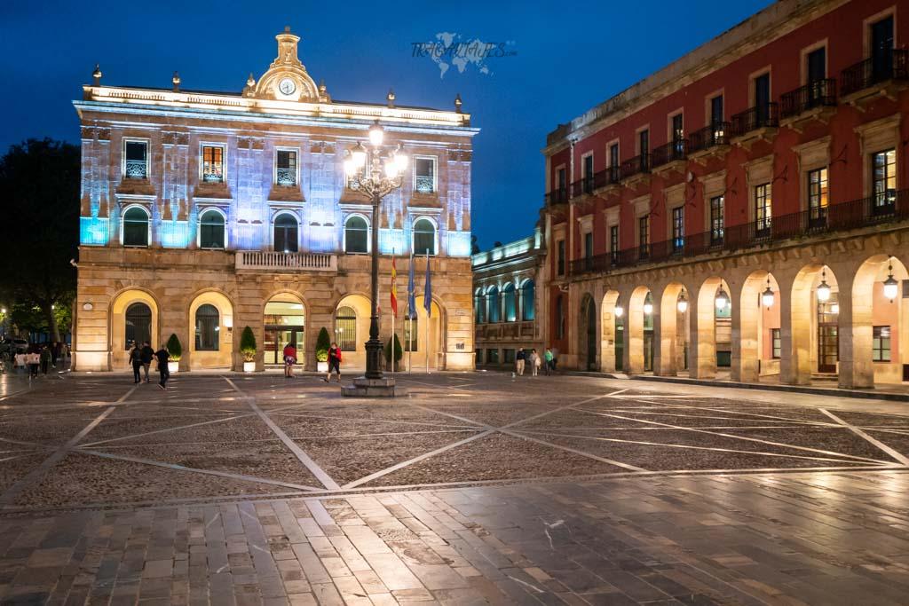 Qué ver en Gijón - Plaza Mayor