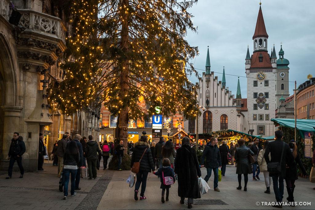 qué ver en múnich y alrededores en navidad