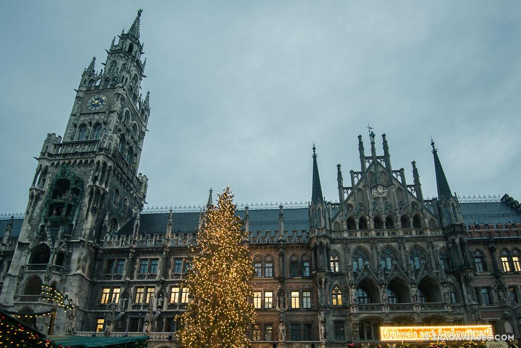 que ver en múnich y alrededores en navidad