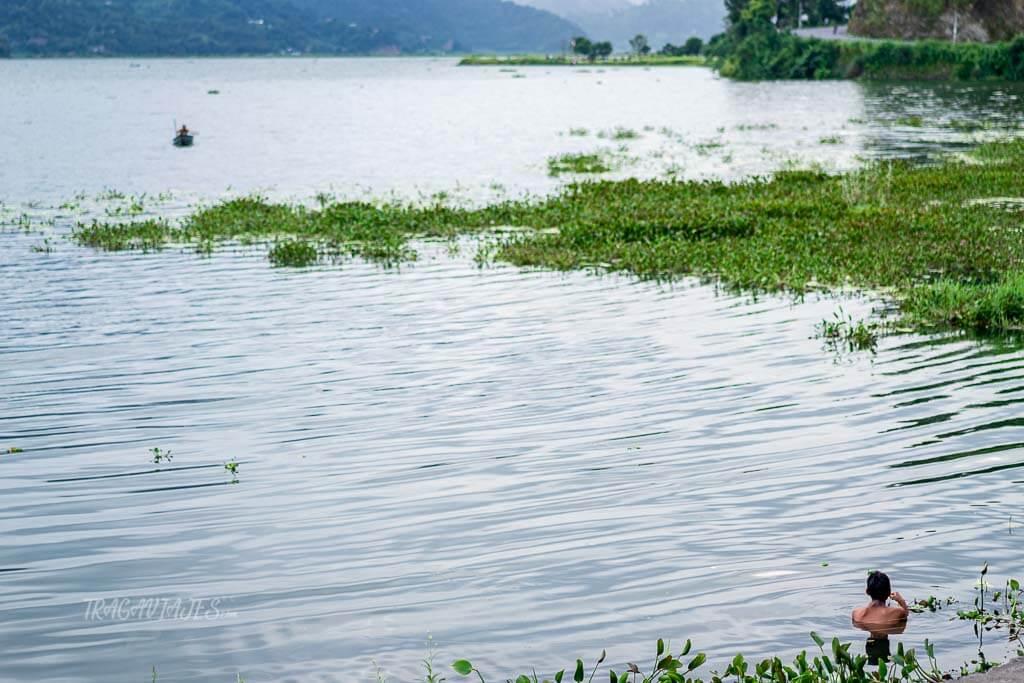 Qué ver en Nepal - Lago Phewa en Pokhara