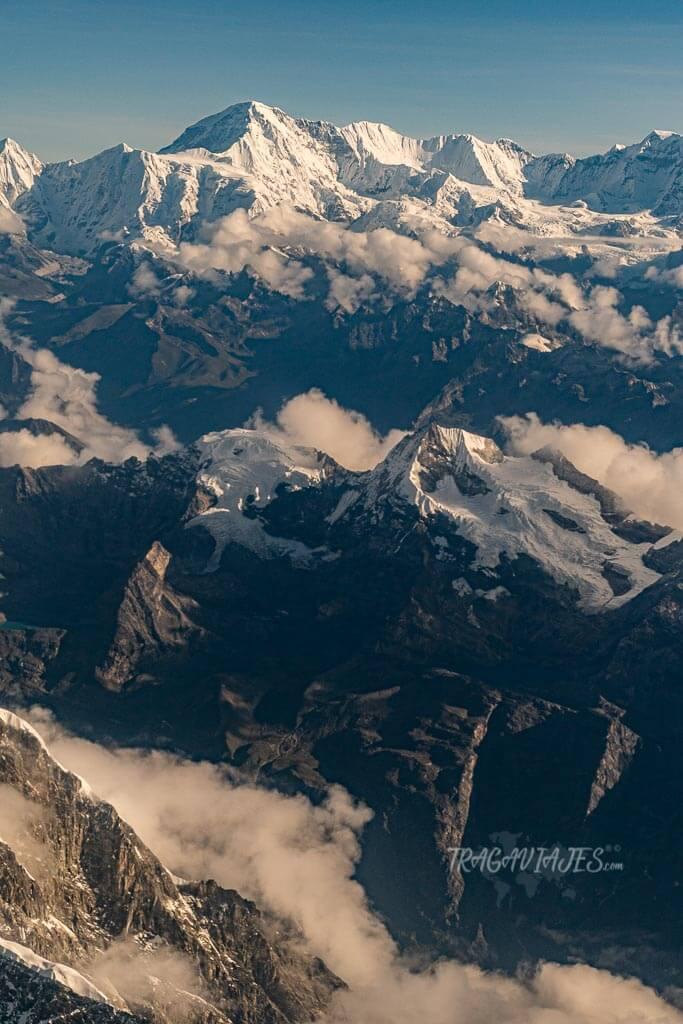 Qué ver en Nepal - Vista del Himalaya desde el avión