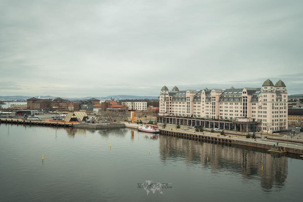 Imprescindibles que ver en Oslo en un día - Vistas desde el tejado de la ópera