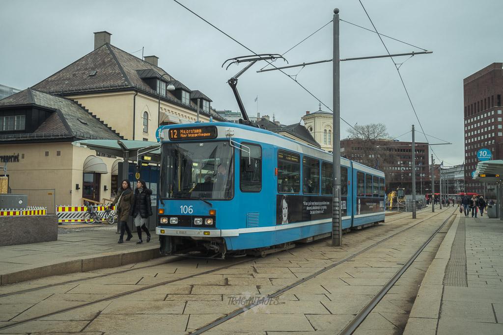 Cómo moverse en Oslo - Tranvía