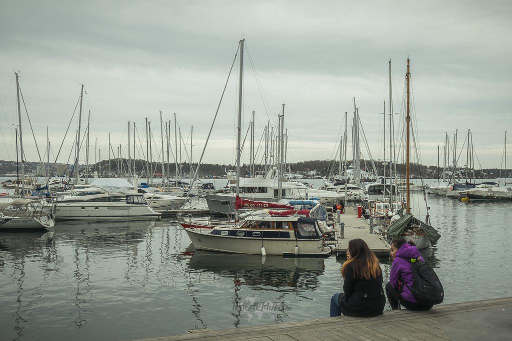 Qué hacer en Oslo - Descansar en su muelle