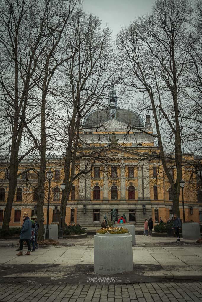 Visitar edificio emblemáticos en Oslo