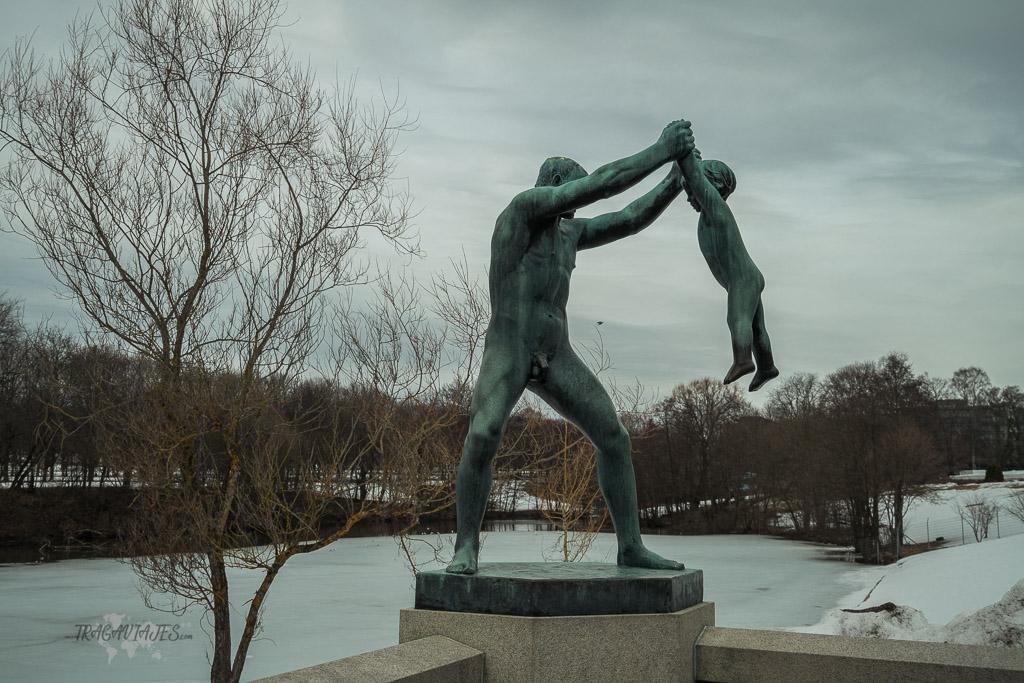 qué ver en oslo en un fin de semana, parque de las esculturas de Vigeland