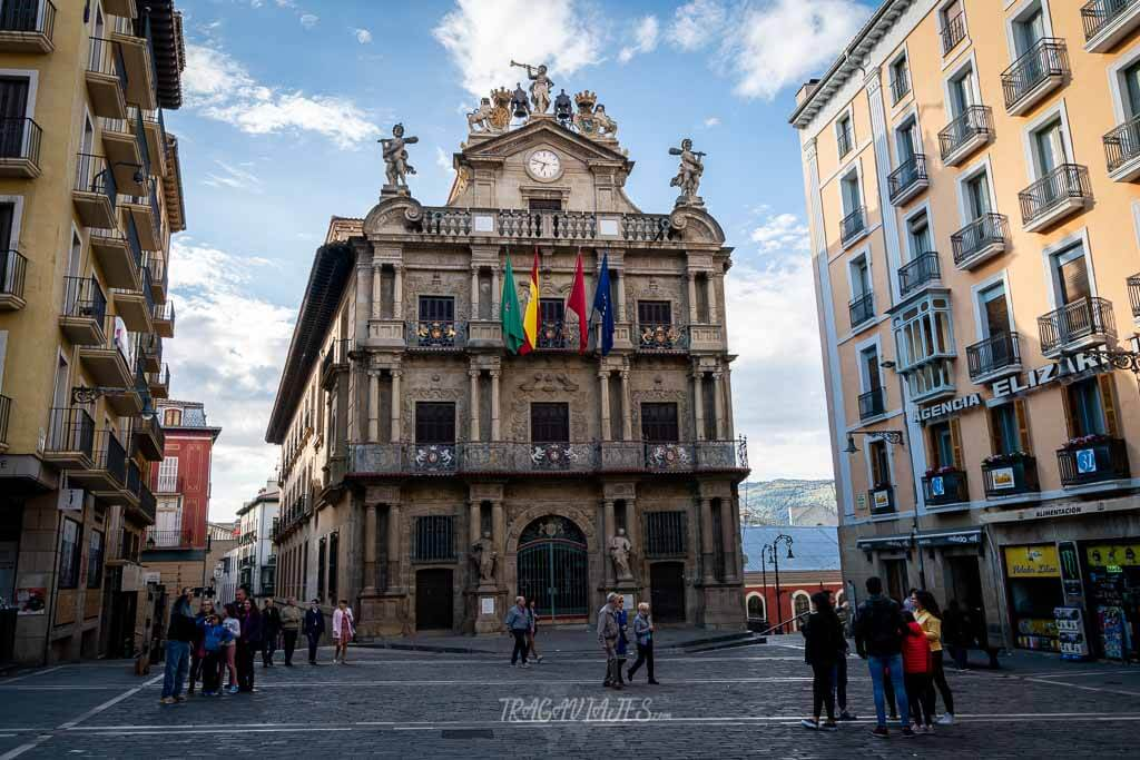 Qué ver en Pamplona - Plaza Consistorial