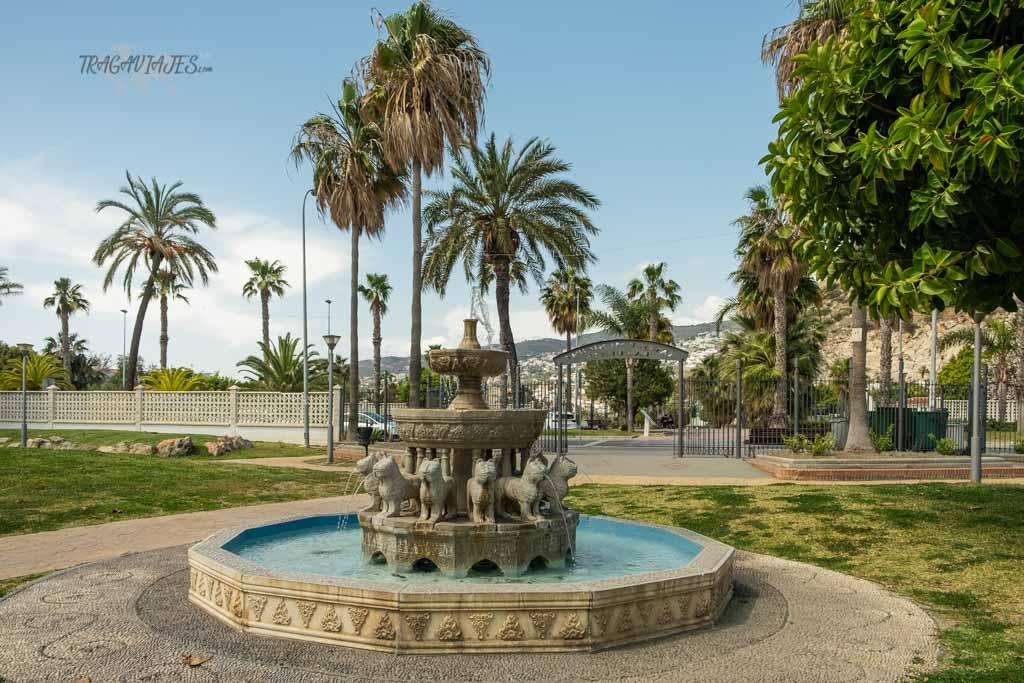 Qué ver en Salobreña- Parque de la Fuente en Salobreña