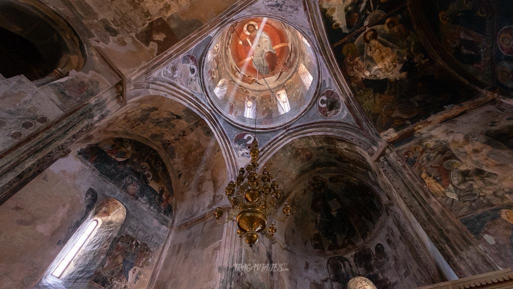 Qué visitar en Georgia en 10 días - Monasterio de Sapara