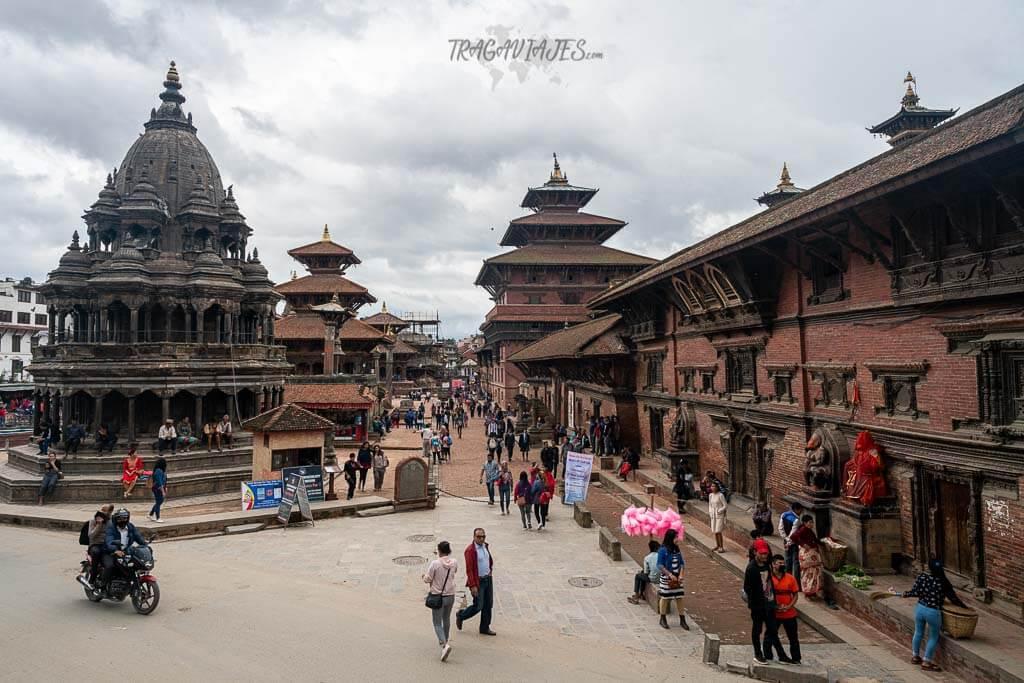 Ruta de Nepal - Plaza Durbar de Patan