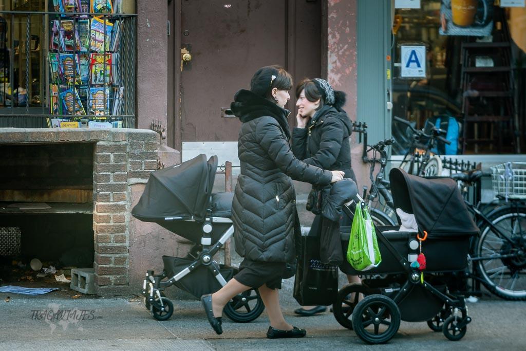 Multiculturalidad de Nueva York - Mujeres judías ultraortodoxas