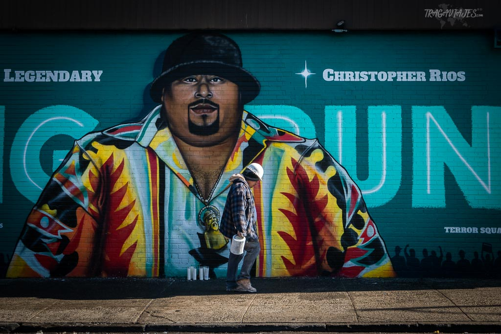 Barrios de Manhattan - Mural de Big Pun