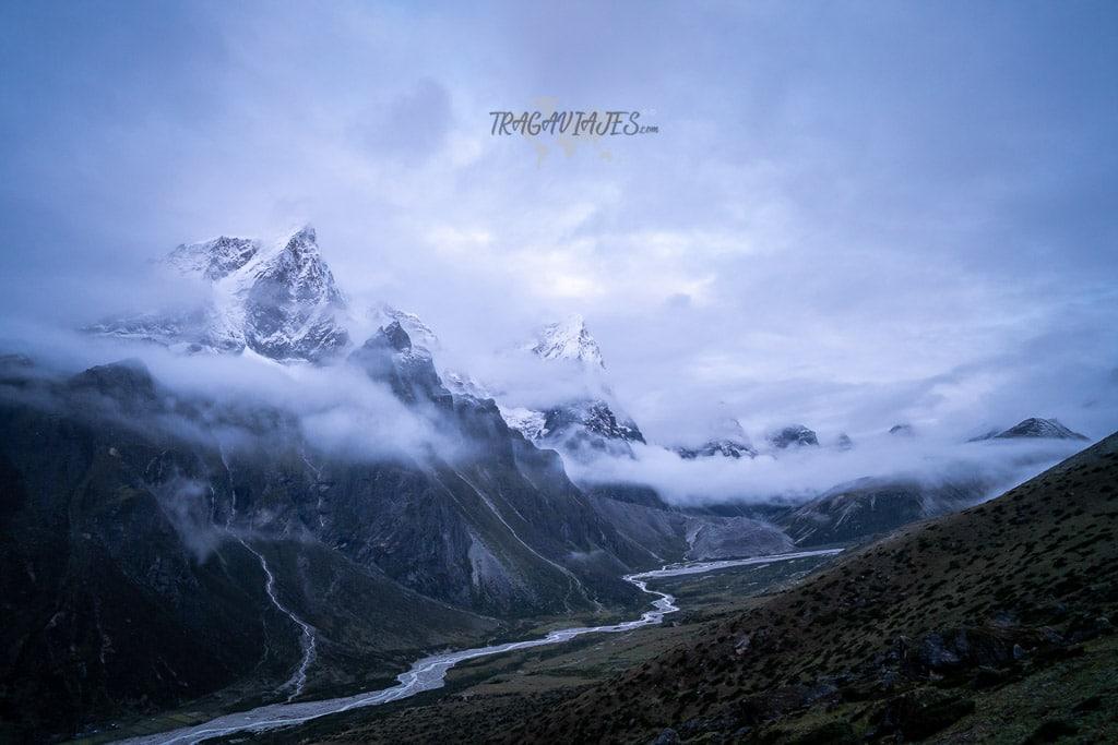 Trekking al campo base del Everest - Nangkar Tshang