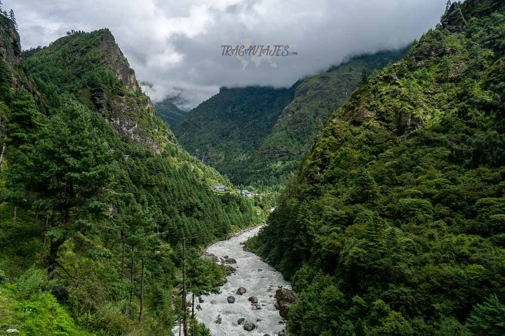 Trekking al campo base del Everest - De camino a Monjo