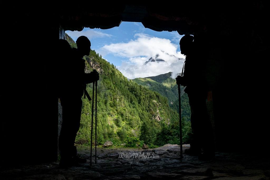 Trekking al campo base del Everest - Entrada el Parque Nacional de Sagarmatha