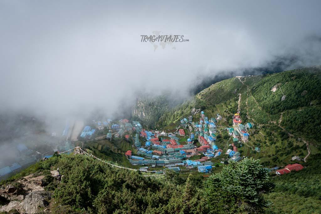 Trekking al campo base del Everest - Namche Bazaar