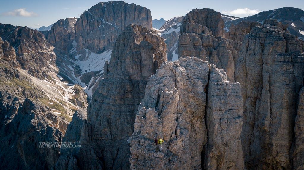 trekking torres vajolet dolomitas - Escalada en las torres de Vajolet