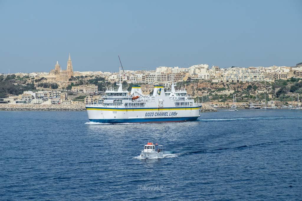 Viajar a Malta - Ferry a Gozo