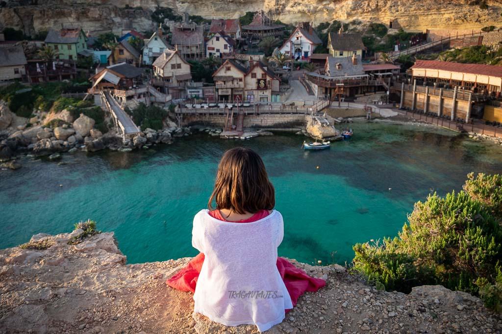 Viajar a Malta - Popeye