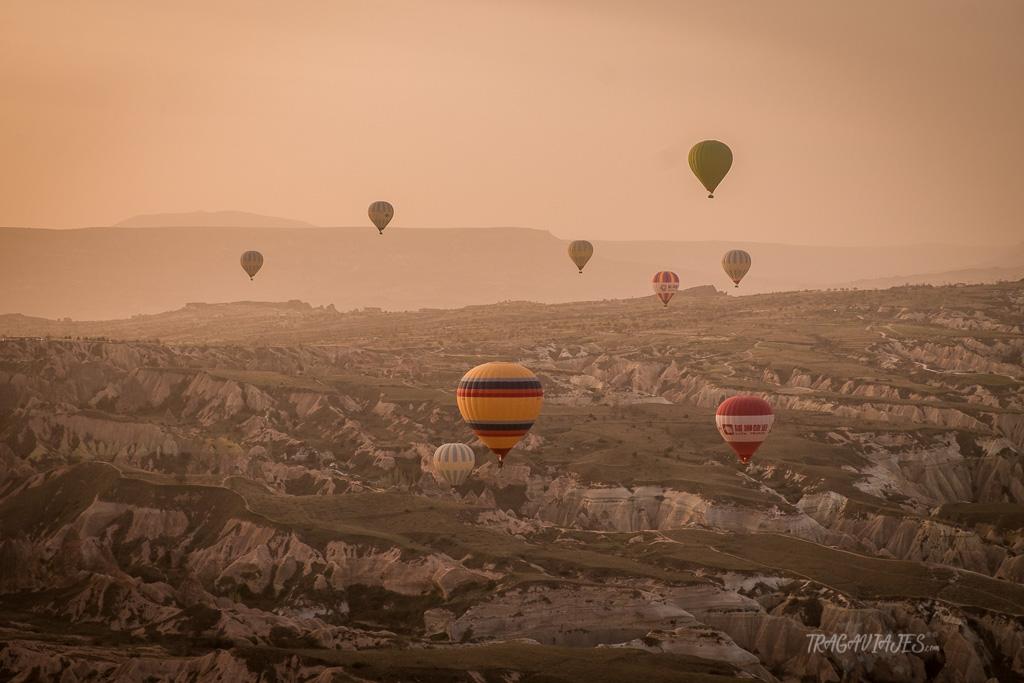 Montar en globo en Capadocia