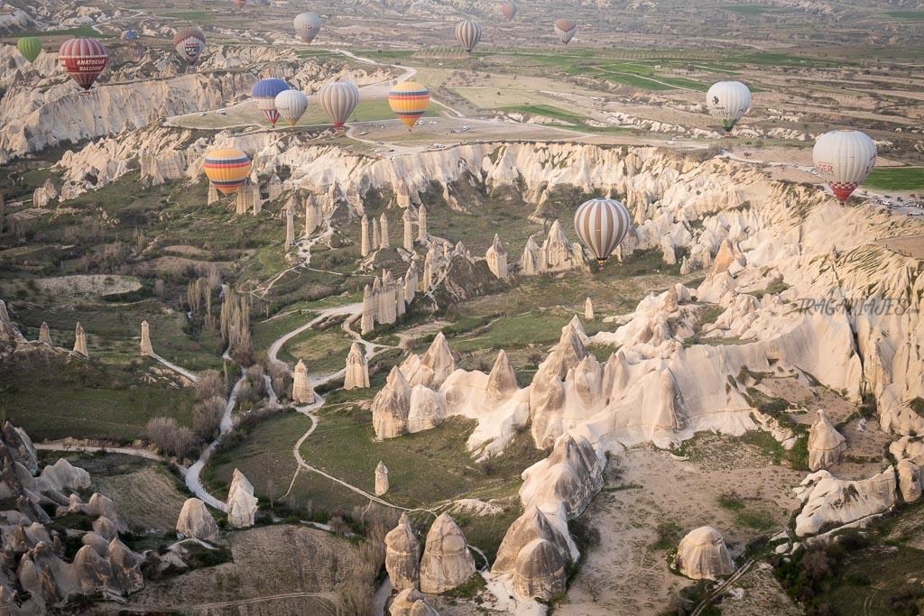 Formas de la Capadocia