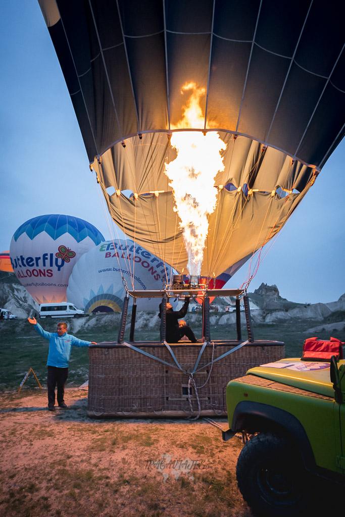 Tour en globo en Capadocia